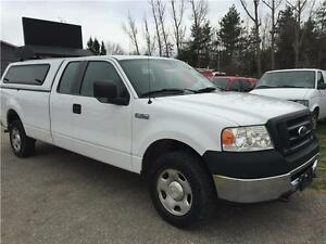 2008 Ford F-150 Extended Cab, 4x4, 8Ft Box