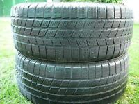 2 PIRELLI WINTER 245 50 17 HIVER 30.00$ EACH CHAQUE   NO TEXT