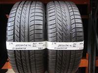 J76 2X 255/50/19 107W GOODYEAR EAGLE F1 SUV 4X4 RFT RSC 1X7MM 1X7,5MM TREAD