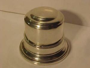 BIRKS STERLING RING (BELL) BOX-RARE -1940`s-NICE CONDITION