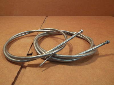 New-Old-Stock Shimano Brake Cable/Housing Set w/Clear Color and Gold Labeling for sale  Shipping to India