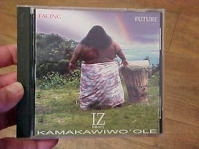 ISRAEL KAMAKAWIWO'OLE IZ FACING FUTURE HAWAIIAN CD SOMEWHERE OVER THE (Israel Iz Kamakawiwo Ole Over The Rainbow)