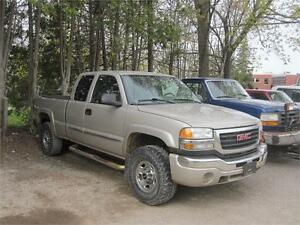 2004 GMC Sierra 2500HD|4x4|EXTANDED CAB|AS TRADED