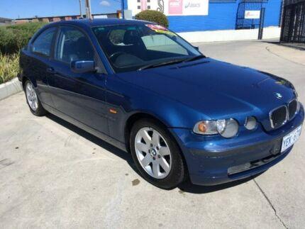 2003 BMW 316TI E46/5 Steptronic Blue 5 Speed Sports Automatic Hatchback