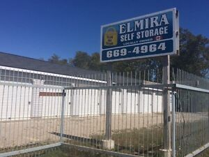 Dry, Clean, Secure Storage rental units