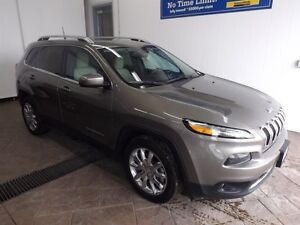 2016 Jeep Cherokee Limited LEATHER NAV
