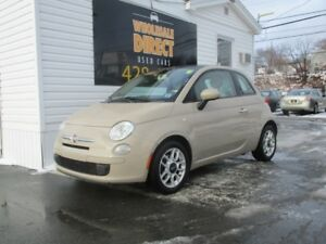 2012 Fiat 500 HATCHBACK 5 SPEED 1.4 L