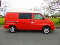2002 52'reg Volkswagen T4 Transporter 2.5 TDi **Lakeland Campervan**Hightop**