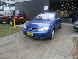 2007 Holden Viva JF Hatchback 5dr Auto 4sp 1.8i [MY07] Blue Automatic Hatchback Condell Park Bankstown Area Preview