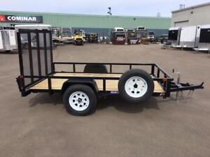 "NEW 2019 SURE-TRAC 72"" x 10' TUBE TOP UTILITY TRAILERS"