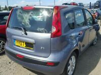 NISSAN NOTE 2008 BREAKING FOR SPARES TEL 07814971951 HAVE FEW IN STOCK