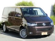 2012 Volkswagen Multivan T5 MY12 TDI400 DSG Highline Bronze 7 Speed Sports Automatic Dual Clutch Melrose Park Mitcham Area Preview