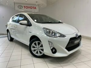 2016 Toyota Prius c NHP10R i-Tech E-CVT White 1 Speed Constant Variable Hatchback Hybrid Waterloo Inner Sydney Preview