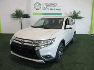 2016 Mitsubishi Outlander SE 4 X 4  a seulement 81$/semaine