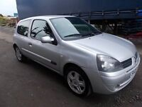 RENAULT CLIO 1.2 CAMPUS SPORT HATCHBACK 06 REG,, FULL SERVICE HISTORY,, MOT 30TH MARCH 2018