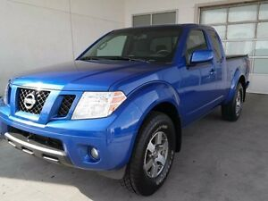 2012 Nissan Frontier PRO-4X, KING CAB, 4X4, MANUAL