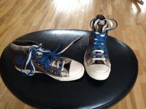 Unique Converse Double Lace Sneakers 8