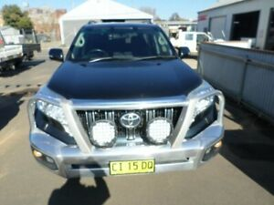 2013 Toyota Landcruiser Prado KDJ150R GXL Metal Storm 5 Speed Sports Automatic Wagon Young Young Area Preview