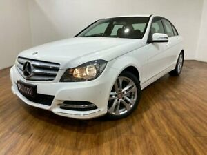 2012 Mercedes-Benz C250 W204 MY12 CDI Avantgarde BE White 7 Speed Automatic G-Tronic Sedan Kingsgrove Canterbury Area Preview