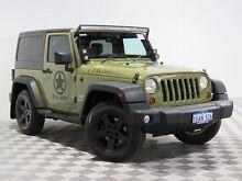 2012 Jeep Wrangler JK MY13 Sport (4x4) Beige 6 Speed Manual Softtop Jandakot Cockburn Area Preview
