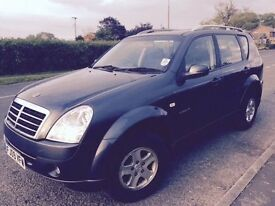 Ssangyong Rexton Only one owner from new. Great condition, less than average mileage.