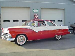 1955 FORD CROWN VICTORIA - A TIMELESS CLASSIC