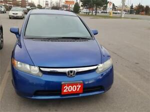 2007 HONDA CIVIC... ONE OWNER...DONT FREEZE THIS WINTER!!!