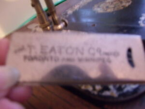 ANTIQUE TREADLE SEWING MACHINE Prince George British Columbia image 4