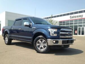 2016 Ford F-150 Lariat Super Crew Leather, Pano Roof, Nav, Backu