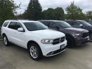 2016 Dodge Durango Limited white