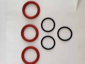 Porsche 911 engine spark plug tube O-Ring gaskets