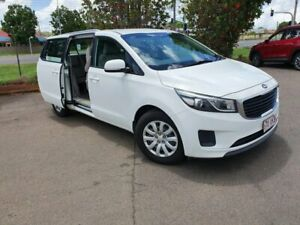2017 Kia Carnival YP MY17 S White 6 Speed Automatic Wagon Wilsonton Toowoomba City Preview