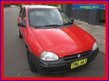 1994 Holden Barina SB Swing Red 5 Speed Manual Hatchback Canada Bay Canada Bay Area Preview