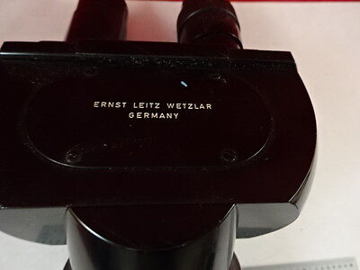 Leitz Germany Head Ortholux Optics Microscope Part As Pictured S3-a-05
