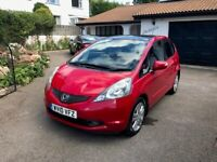 Honda, JAZZ, Hatchback, 2010, Manual, 1339 (cc), 5 doors - Red Only 37K Miles