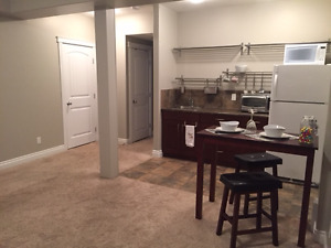Beautiful Private 1 Bedroom Basement Suite