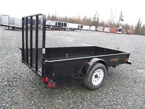 5' X 10' UTILITY TRAILER WITH SOLID SIDES Prince George British Columbia image 3