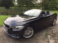 BMW 4 Series 2.0 420d Luxury Convertible 2dr