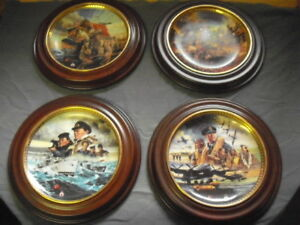 Canada remembers collector plates