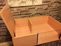 brand new 3ftx2ft tortoise table in beech
