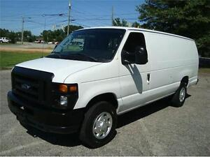 2011 FORD CARGO VAN *OVER 8500 GVWR, SHELVING*