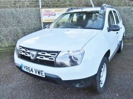 Dacia Duster 1.6 Access Petrol 2WD (white) 2014