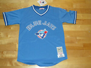 Joe Carter RETRO 1992 Blue Jays Powder Blue REPLICA Jersey