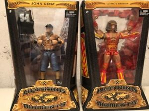 WWE DEFINING MOMENTS ACTION FIGURES - BRAND NEW SEALED