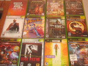Original Xbox Games-5$ each/Cleaned/Tested/Old Skool Gamers