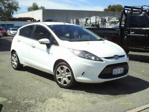 2010 Ford Fiesta White Automatic Hatchback Embleton Bayswater Area Preview