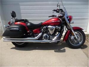 2009 YAMAHA V-STAR TOURER 1300