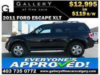 2011 Ford Escape XLT $119 bi-weekly APPLY NOW DRIVE NOW