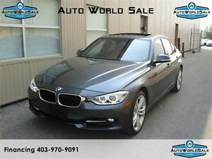 2014 BMW 328 XI-AWD|NAVI-SPORT -RED INTERIOR