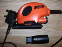 Black&Decker 230 volt mouse sander